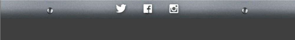 Social media footer